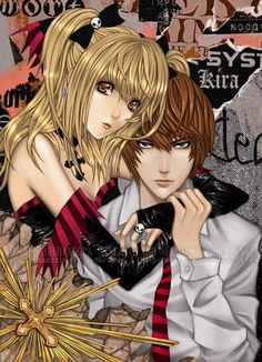 Death Note: Misa & Light