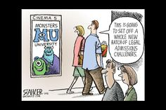 #MonstersUniversity movie review: http://www.csmonitor.com/The-Culture/Movies/2013/0621/Monsters-University-is-a-funny-prequel-with-a-good-life-lesson
