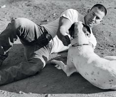 Channing Tatum with his dog is #betterthansex