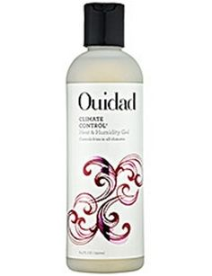 Even if you're at my grandmother's house in Florida—which is the most humid location on this planet—this gel keeps the frizz situation in check.  OUIDAD HEAT & HUMIDITY, FRIZZ EASE FLAWLESS FINISHING CREAM, $5.99, SEPHORA.COM GEL, $22,