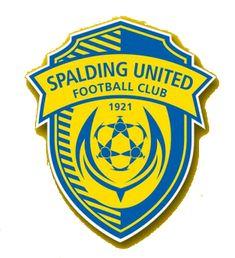 Spalding Utd of Lincs, England crest. Peterborough United, Durham City, Newport County, British Football, Stand Down, Football Team, Soccer Teams, Fa Cup, Juventus Logo