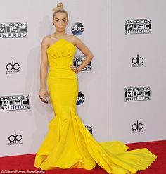 Next stop the Dolby Theatre? Rita Ora looked as if she was headed to the Oscars in a drama...