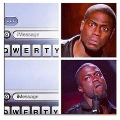 Me, when people take too long to text back