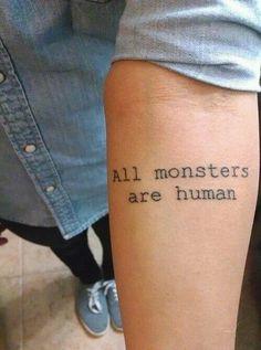 Imagen de tattoo, monster, and human. #AHS