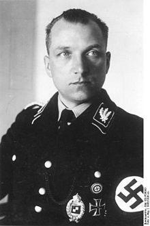 August Heißmeyer (or Heissmeyer – born 11 January 1897 in Gellersen, nowadays part of Aerzen; died 16 January 1979 in Schwäbisch Hall), was a leading member of the SS. After World War II, Heissmeyer was sentenced to a prison term as a war criminal. His nephew, Kurt Heissmeyer, an SS physician, was as well.