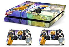 Skin PS4 HD DRAGONBALL GT TRUNKS GOHAN c limited edition Playstation 4