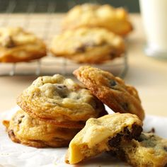 Macadamia Nut Cookies Recipe -These rich cookies are full of Hawaiian macadamia nuts and chocolate chips. —Mary Gaylord, Balsam Lake, Wisconsin