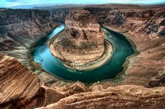 Horseshoe bend, Just a short hike from Route 89 near Page, Arizona is one of America's great natural wonders.