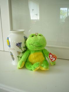 ed3f174ec8b Nancy SniderBeanie Babies · Charm the Frog Retired (05 24 06) What will  happen when you
