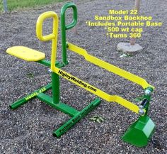 Ride on playground toy sand digger for kids
