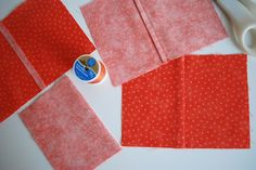 How to sew french seams.  I love the look of these and have never spent the time to figure them out.  Maybe this will help.