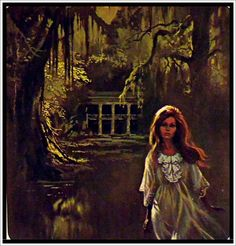 gothic romance paperback art | gothic romance cover art | my love-haunted heart