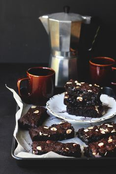 Cocoa Hazelnut Brownies | The Sugar Hit