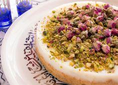 Mahalabeh Cake حلويات: كيك المهلبية #desserts #recipes #حلويات