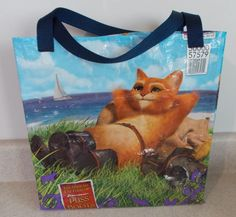 Free Bag, Tote, Clutch, Backpack, Pocketbook & Purse Patterns : Simple Tote Bag Made from Feed Bags