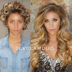She used the pin curl method & the to get this big, glam hair!>>>> Beautiful and glamorous big hair curled with pincurls Vintage Hairstyles, Pretty Hairstyles, Braided Hairstyles, Wedding Hairstyles, Wedding Hair And Makeup, Hair Makeup, Pageant Hair, Pin Curls, Big Hair Curls