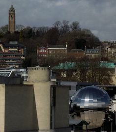 The Old & The New - Cabot Tower & The Planetarium