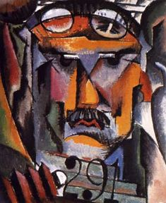 Portrait of Alfred Stieglitz by Man Ray