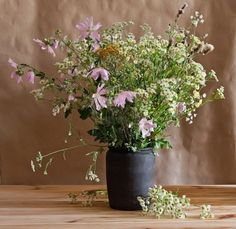 Picture of wild flowers in a vase stock photo, images and stock photography. Meadow Flowers, Blooming Flowers, Wild Flowers, Household Items, Flower Vases, Summer Vibes, Floral Arrangements, Stock Photos, Plants