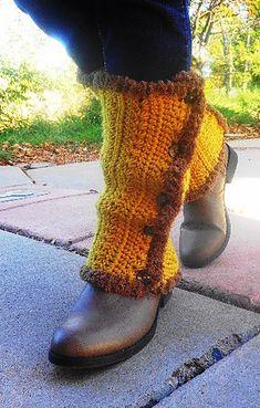 Leg warmers free crochet pattern