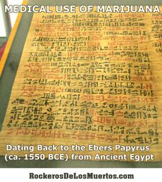 What did Ancient Egyptians know? Just built pyramids we can't today, right? #marijuana #PTSD #cannabis #MarkEmery