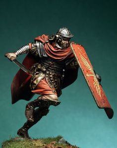 Roman Legionary, II century A.D. - 75mm Box Set - Ancient Rome