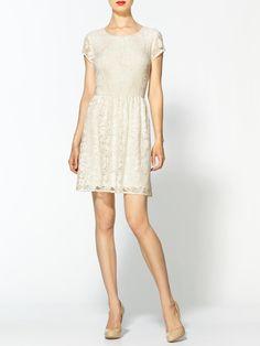 Piperlime ladylike lace dress