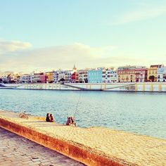 Orillas del Guadalquivir. Sevilla