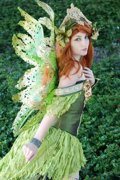 Iolanthe - I always seem to picture her in green, with flowing red hair. Just like this!
