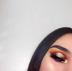 Here's a part 2 of my Fiery Sunset halo eye look Details; BROW