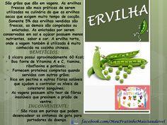 NUTRIÇÃO INFANTIL - Nutricionista Alessandra Pires: Ervilha