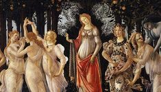 Why is the allegorical painting Primavera by the prolific painter Sandro Botticelli among the most celebrated masterpieces of the Italian Renaissance? Botticelli Paintings, Art Prints, Classic Art, Painter, Painting, Poster Art, Botticelli, Famous Art, Popular Paintings