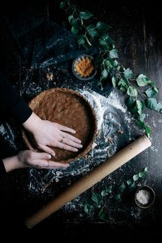 Maple Pecan Pie with Cinnamon Spelt Crust | Gather & Feast