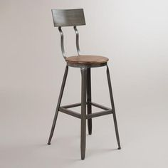 I just need one. ONE. Can't bring myself to pay $100 for a stool. But....it could happen......World Market Hudson Pub Stool