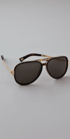 Marc Jacobs Sunglasses Aviator Sunglasses | SHOPBOP