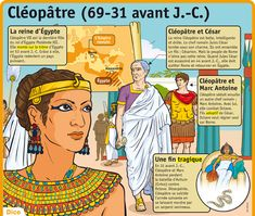 Fiche exposés : Cléopâtre (69-31 avant J.-C.)