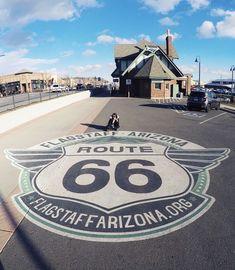 Route 66 Route 66 Sign, Old Route 66, Route 66 Road Trip, Historic Route 66, Travel Route, Road Trip Usa, Route 66 Arizona, Flagstaff Arizona, Arizona Travel