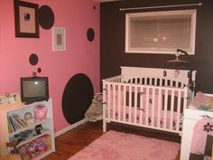 """This is a good """"grow with me"""" nursery that can work well into baby's teenage years."""
