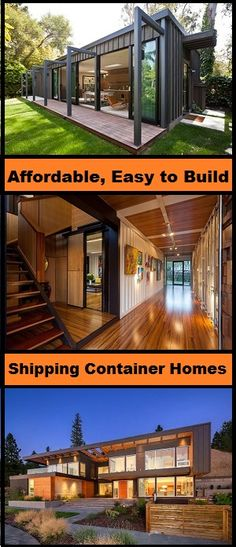 Design and build your own shipping container home and save loads. Read more on http://www.thediyhubby.com/how-to-build-a-container-home/  #shipping #container #home