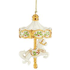 282653 Lenox 2014 Annual Holiday Carousel Ornament
