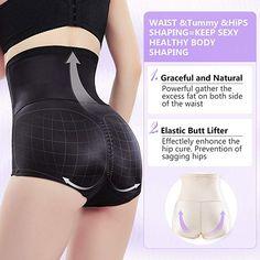 937c5e4ff71 MOVWIN Women Body Shaper Seamless Briefs Sexy Shapewear Panty High Waist  Butts Lifter Tummy Control Panties