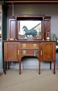 Inspiring hand-picked home accessories, home decor and furniture. Our luxury home accessories UK range includes Farrow & Ball wallpaper and paint. Home Accessories Uk, Mahogany Sideboard, Farrow Ball, Antique Furniture, Luxury Homes, Antiques, Wallpaper, Store, Painting