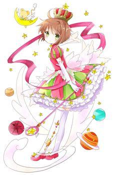 Cardcaptor Sakura Clow Reed, Sakura Kinomoto, Sakura Card Captor, Clear Card, Kawaii Drawings, Anime Art Girl, Magical Girl, Digimon, Just In Case