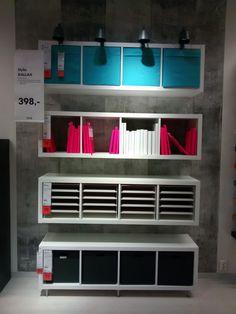 Kallax shelf, storage solution
