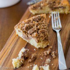 <3 Super Crumb Coffee Cake.