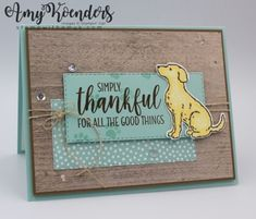 Stampin' Up! Happy T