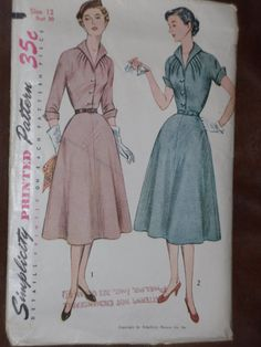 Simplicity 3950 Pattern Misses' Tailored by EmilysSoMuchtoMake