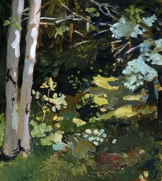 Fairfield Porter, Path in the Woods, 1968