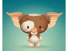Gremlins Illustration By Jerrod Maruyama Cute Cartoon, Cartoon Art, Cartoon Characters, Cute Disney, Disney Art, Gremlins Gizmo, Disney Wallpaper, Cute Illustration, Illustrations