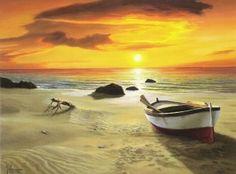 Το καλοκαίρι στην ζωγραφική~πίνακες ζωγραφικής αφιερωμένοι στο καλοκαίρι